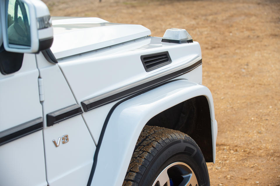 2001 Mercedes-Benz G500 V8 Short-Wheelbase 4x4 Utility  Chassis no. WDB4632402X122153