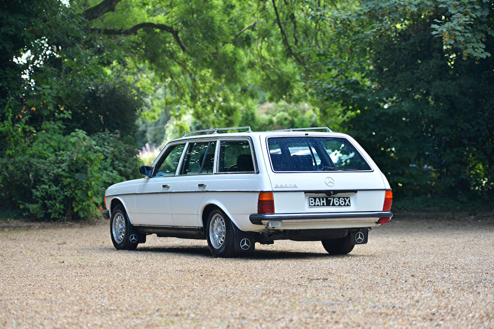 Formerly the property of Sir Barry Gibb, CBE of the Bee Gees,1982 Mercedes-Benz 280 TE Estate  Chassis no. WDB123098822006088