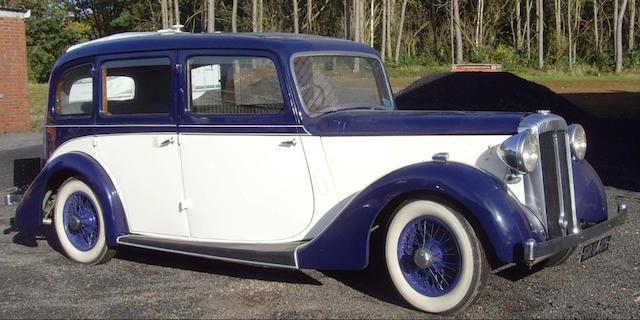 1938 Daimler EL24 Limousine  Chassis no. BN5308
