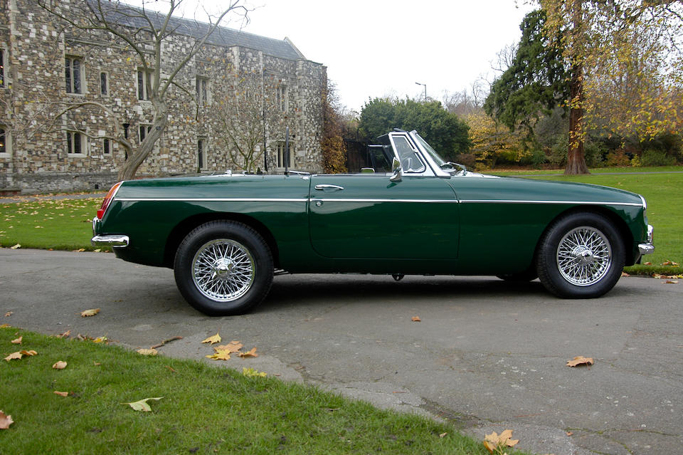 1969 MGB Supercharged Roadster with Hardtop  Chassis no. G-HN4-U/175501
