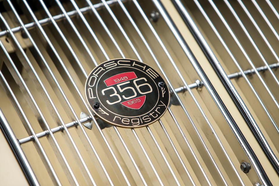 1961 Porsche 356B 1600 Coupé  Chassis no. 118029