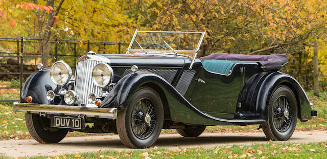 In current ownership since 1992 and only three owners from new,1936 Talbot BG110 Sports Tourer  Chassis no. 4565