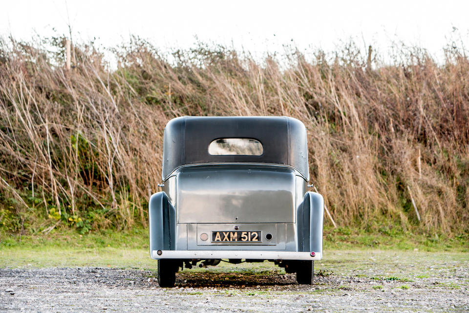 1934 Rolls-Royce 20/25 Limousine  Chassis no. GXB25