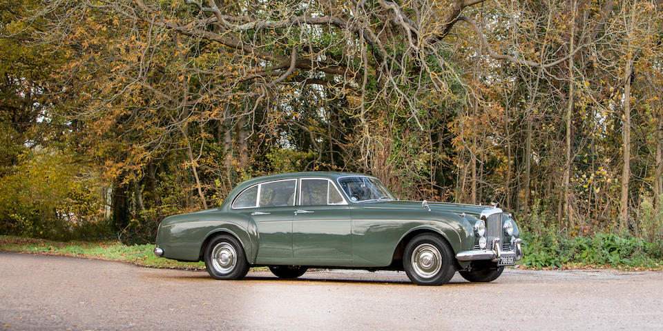 The ex-London Motor Show,1960 Bentley S2 Continental Flying Spur Sports Saloon  Chassis no. BC145AR
