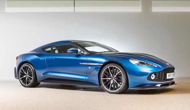 2017 Aston Martin Vanquish Zagato Coupé