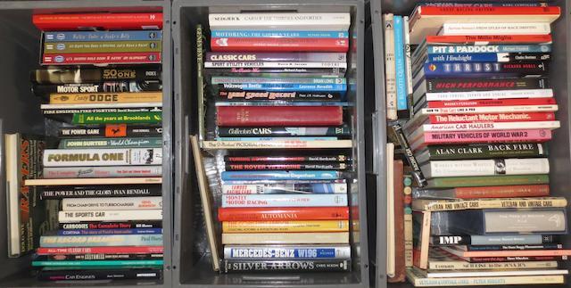 A good quantity of general motoring books,  ((Qty))
