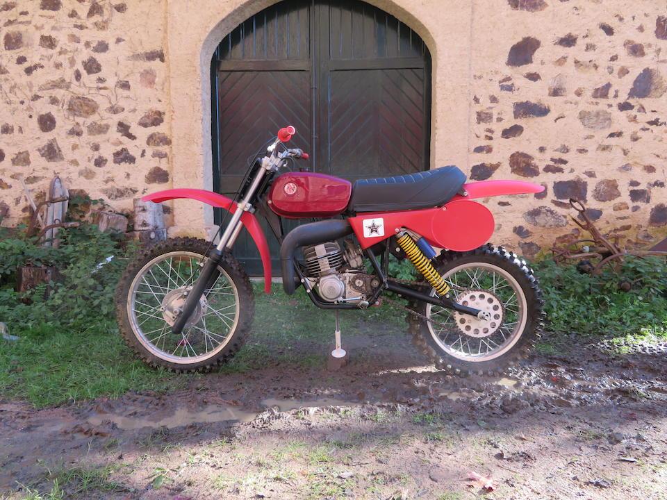 c.1983 CZ 125cc  Engine no. 516 0 020136