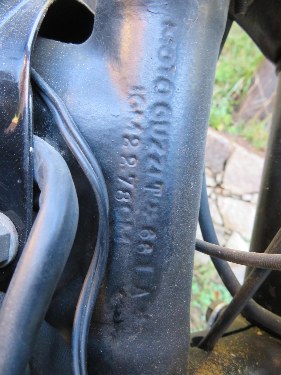 c.1962 Moto Guzzi 123cc Stornello Sport Frame no. T*66IA* Engine no. T*27IA*