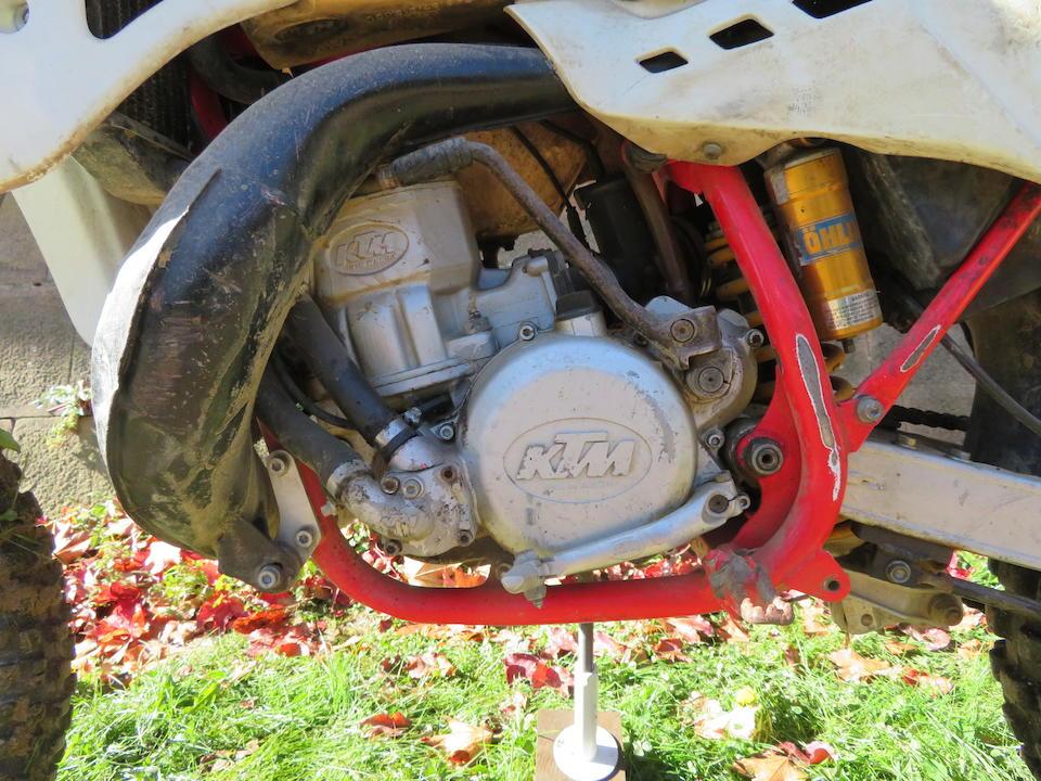 c.1990 KTM 250 MX Frame no. KTM.9001.73011 Engine no. 4281