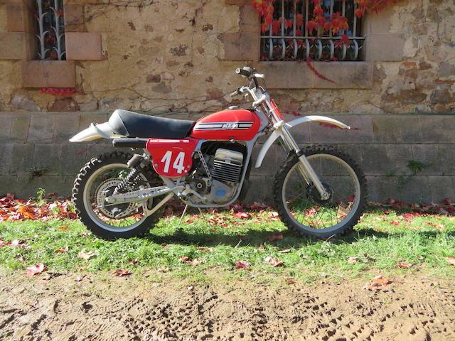 c.1974 KTM 250cc Frame no. 402 81534 Engine no. 0*425348