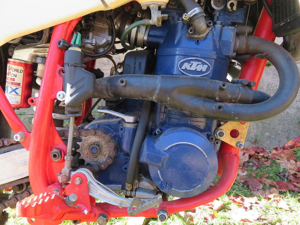 1988 KTM 600 Enduro Frame no. KTM 8707*51295* Engine no. 7-580*00419*