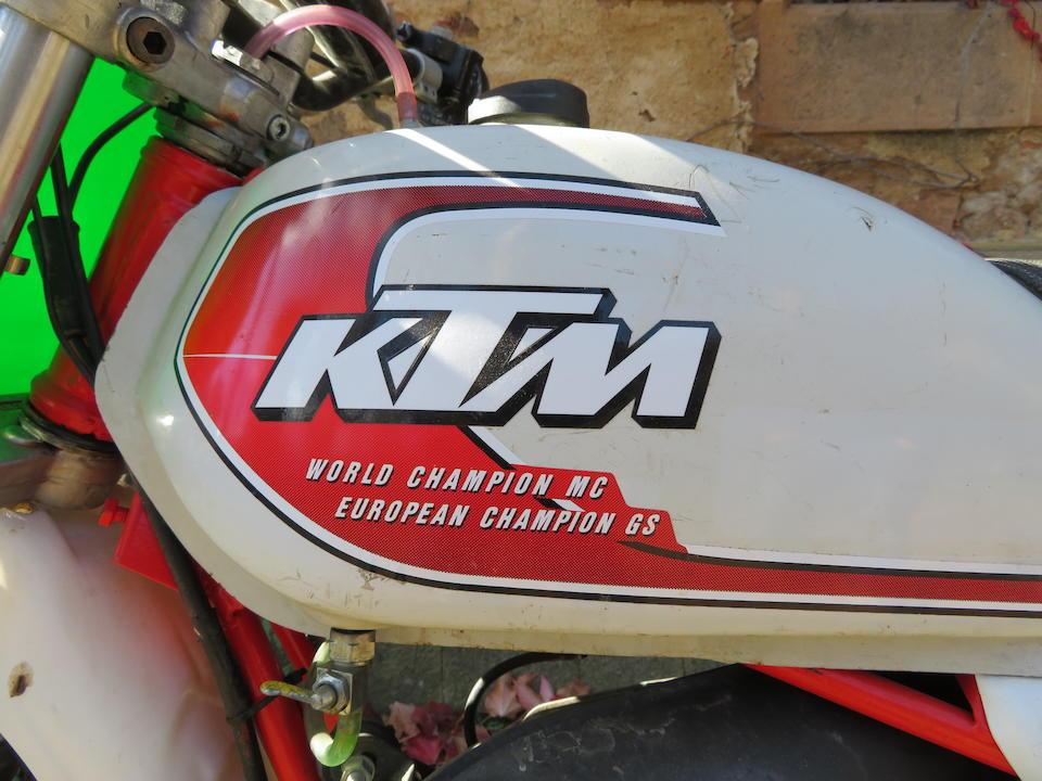 c.1977 KTM 250 MC5 Frame no. *007-06169* Engine no. 24564