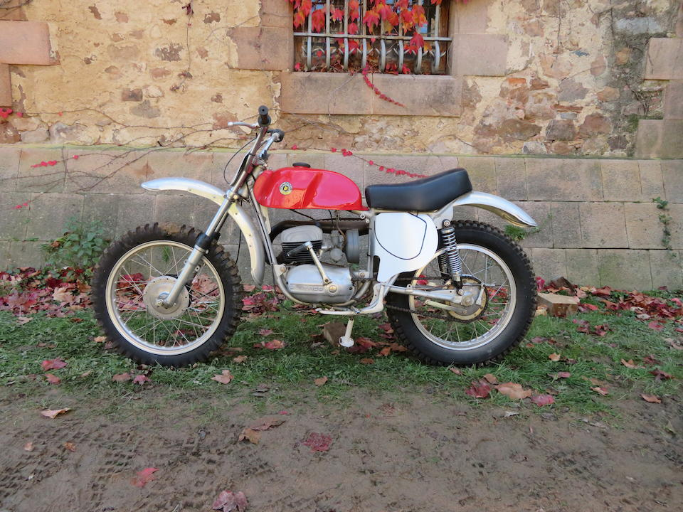 c.1968 Bultaco 125cc Sherpa S Frame no. none visible Engine no. none visible