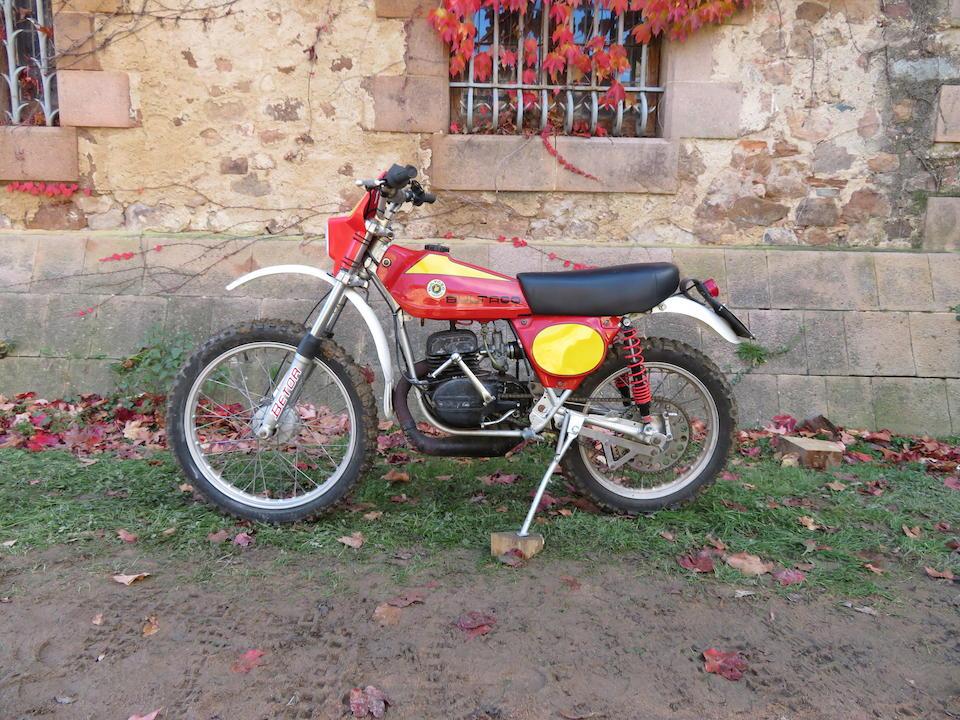 c.1976 Bultaco 74cc Frontera Frame no. YB-17400748 Engine no. YM-17400748