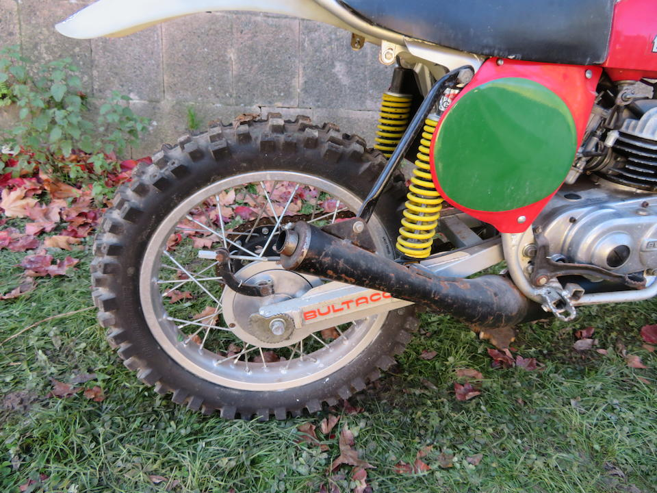 c.1975 Bultaco 250cc Pursang Mk. 8 Frame no. none visible Engine no. PM-13504264