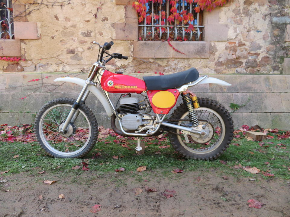 c.1970 Bultaco 244cc Pursang 250 Mk. 4 Frame no. 6803588 Engine no. M-6802928