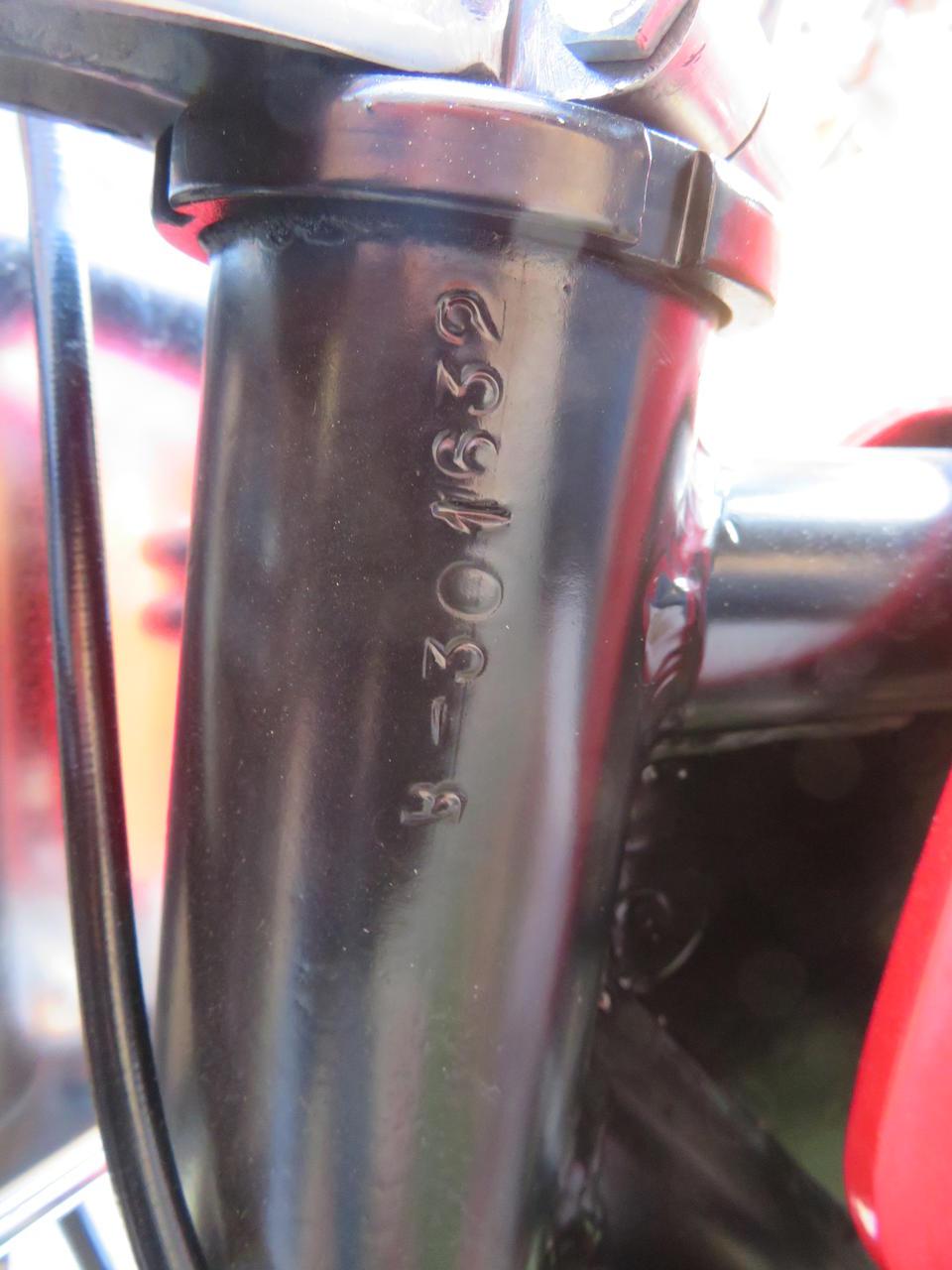c.1966 Bultaco 200cc Sherpa S Frame no. B-301632 Engine no. M-3007510