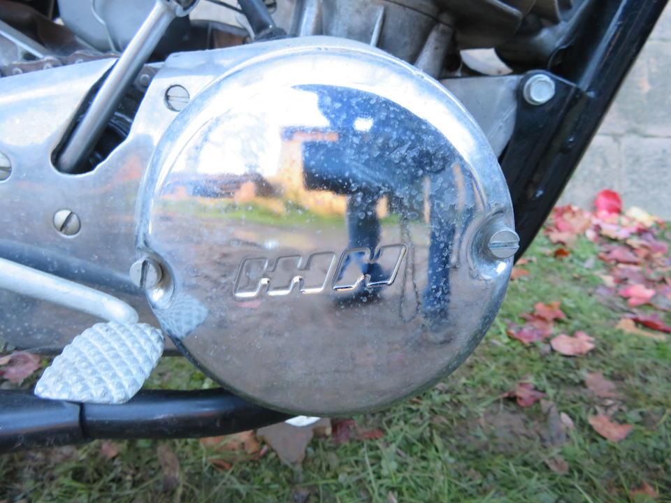 IZH Planeta Motocross Frame no. none visible Engine no. M 2480583