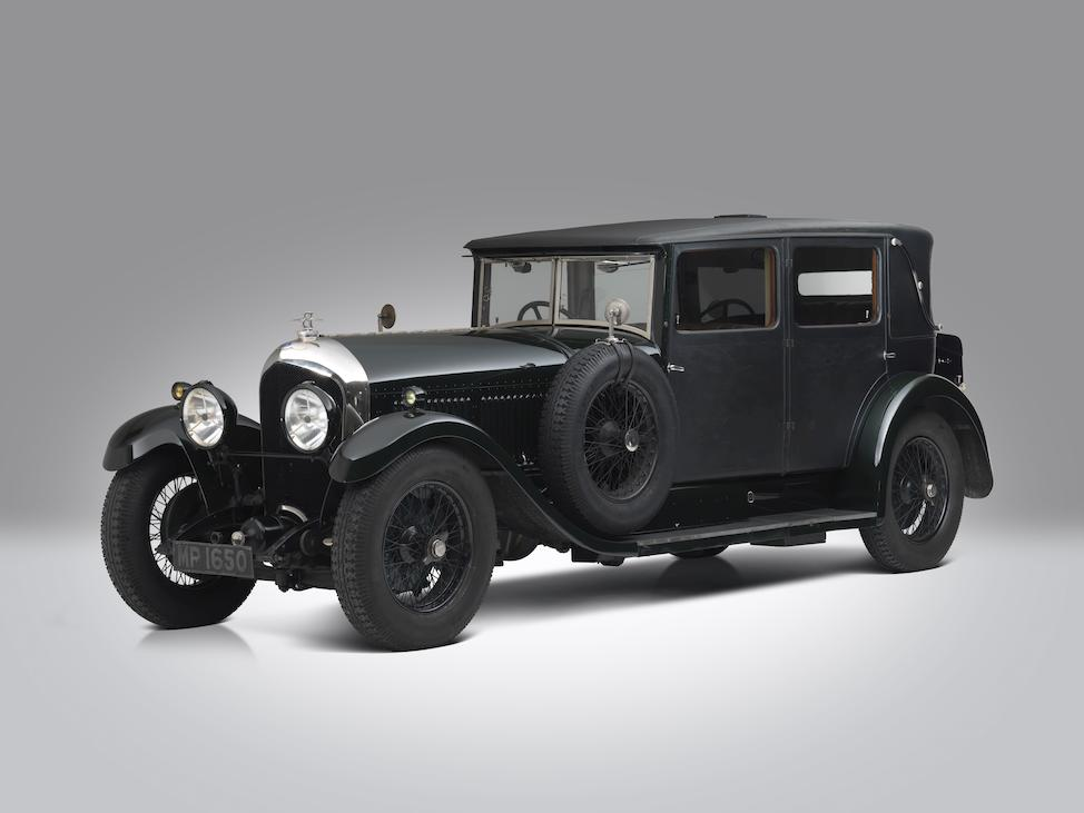 1928 Bentley 6 1/2 Liter Saloon  Chassis no. BR2353 Engine no. BR2351