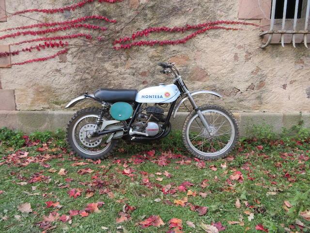 c.1971 Montesa 246cc Cappra 250 MX Frame no. none visible Engine no. 44M1467