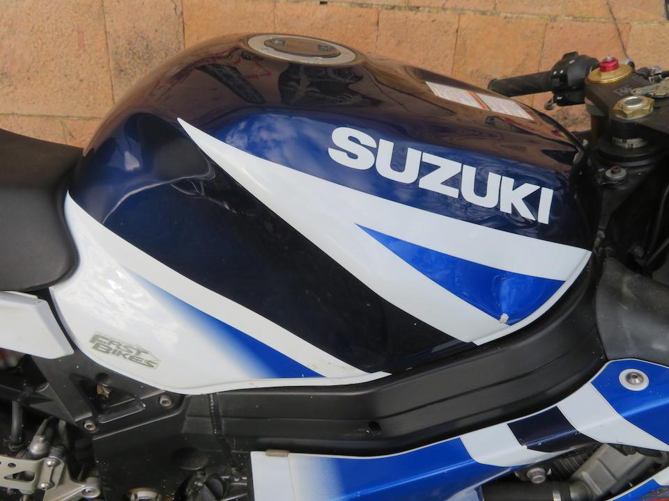 2004 Suzuki 988cc GSXR 1000 K4 Frame no. JS1BZ111100103564 Engine no. T711-107896