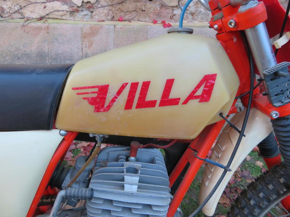 c.1976 Villa Cross 250 Frame no. FV-SD*2008* Engine no. CM-250-*521*