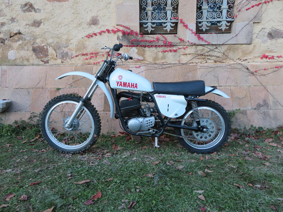 c.1974 Yamaha 246cc MX250A Frame no. 364-024631 Engine no. 364-024