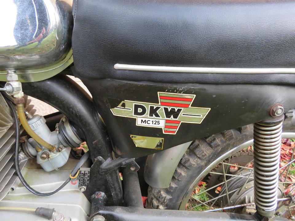 c.1969 DKW MC125 Frame no. 428002369 Engine no. 9034403