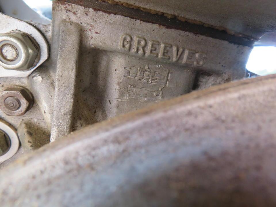 c.1964 Greeves 246cc Challenger 250 Frame no. 24MX1 228 Engine no. GPA1 209