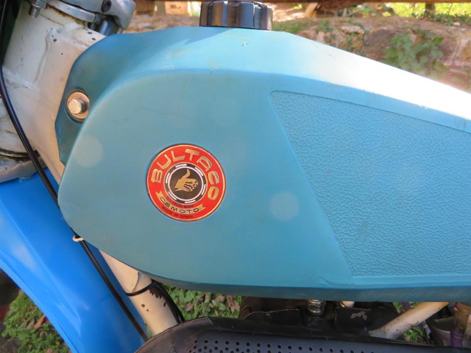 1978 Bultaco 246cc Pursang Mk.12 Everts Frame no. PB-21900869 Engine no. PM-21900869