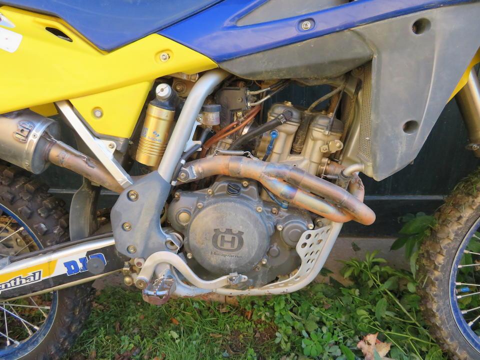 c.2005 Husqvarna 250 Motocross Frame no. *ZCGH800AA5VO52471* Engine no. A4209