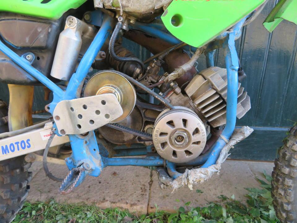 c.1995 Kawasaki Metrakit 50cc Automatic Enduro Special Frame no. KX080P-002666 Engine no. MKR208