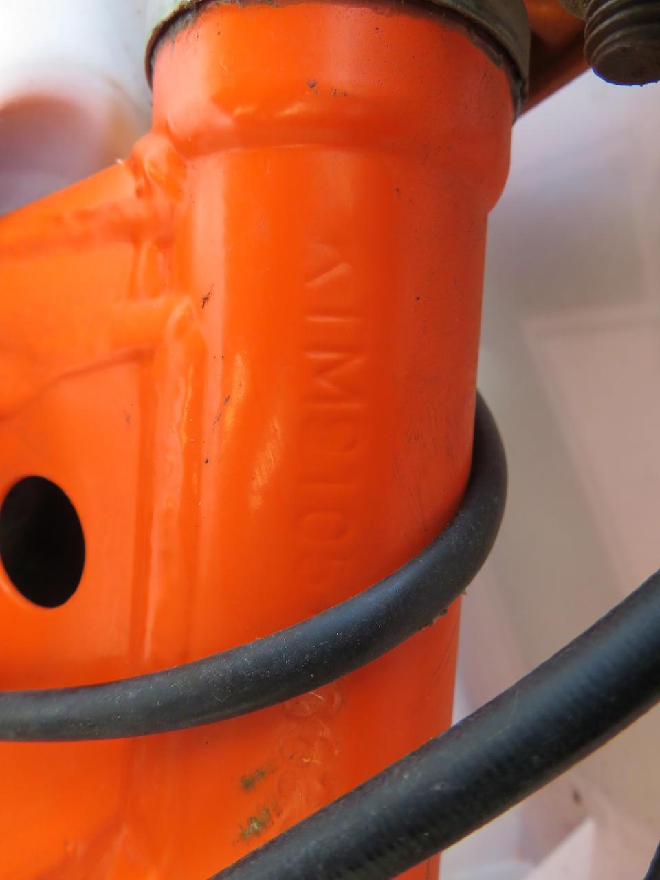 c.1998 KTM 85cc SX 85 Frame no. KTM9105-93629 Engine no. *03855*
