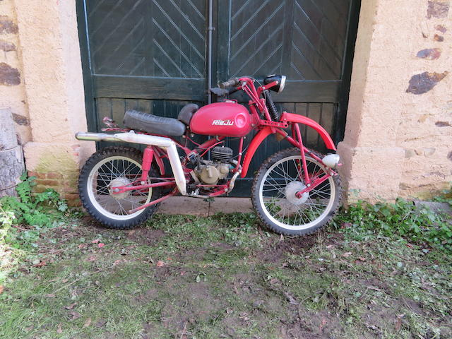 c.1965 Rieju Special 67cc Frame no. none visible Engine no. Gilera067*002319*
