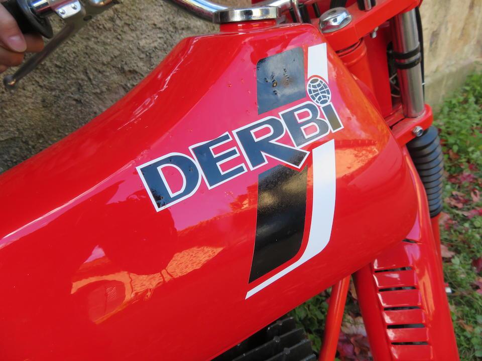c.1980 Derbi 50cc Enduro 50 Frame no. MC068400 Engine no. MC66400