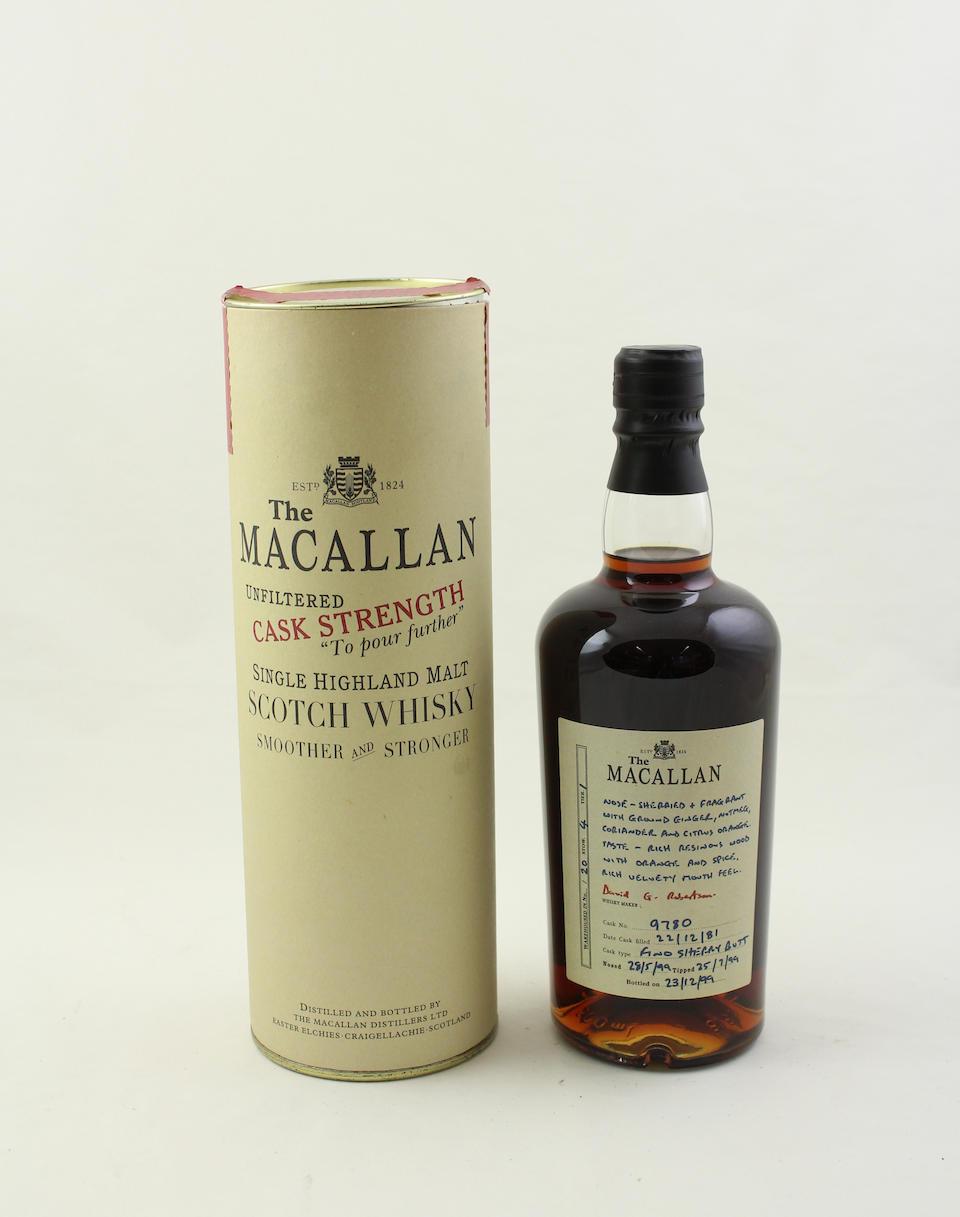 The Macallan Cask Strength-1981