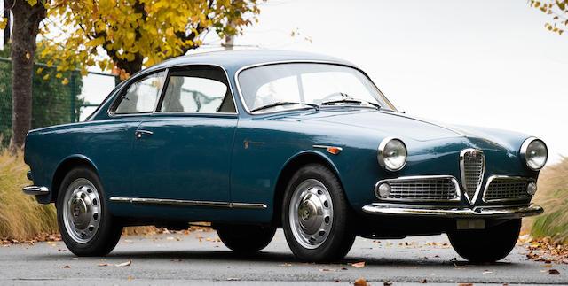 1962 Alfa Romeo  Giulietta Sprint Coupé  Chassis no. AR 350713