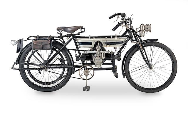 c.1910 Douglas 2¾hp Model C Frame no. unable to locate Engine no. 1056