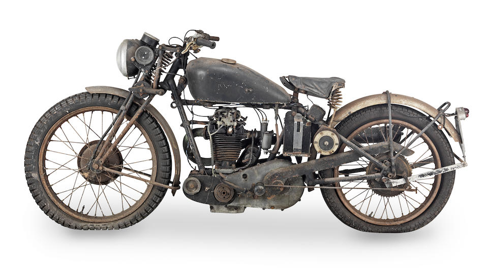 1929 Velocette 348cc KSS Frame no. X2660 Engine no. KNSS2563