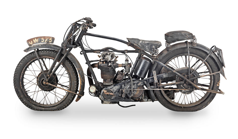 1929 Velocette 348cc KSS Frame no. X3213 Engine no. KNSS3116