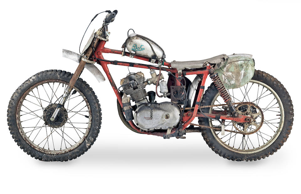 c.1959 DOT 200cc Grass Track Special Frame no. unable to locate Engine no. unable to locate