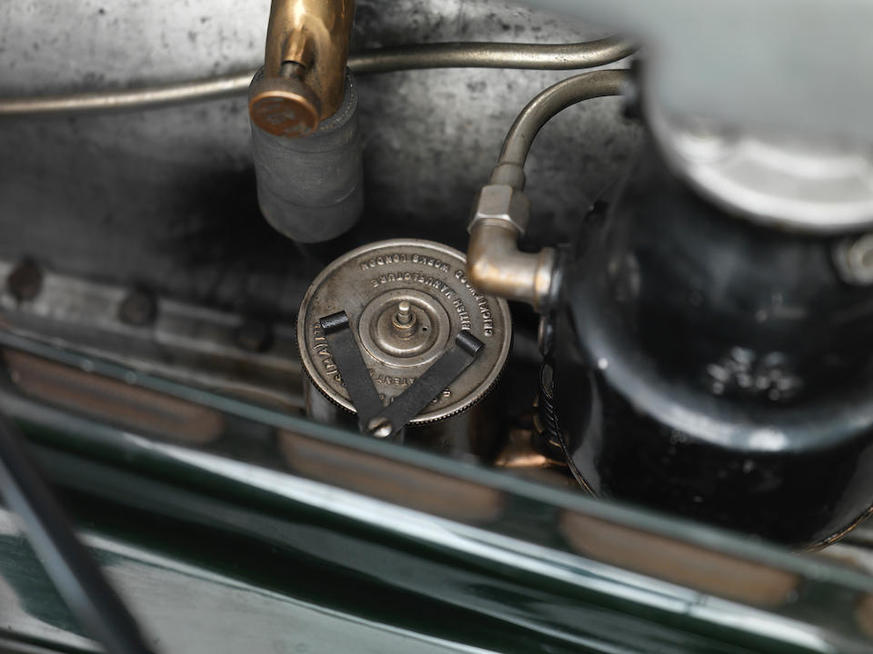 Low mileage, rare survivor of closed 'Big Six' Bentley,1928 Bentley 6½ Litre Four Light Weymann Fabric Sports Saloon  Chassis no. BR2353 Engine no. BR2351