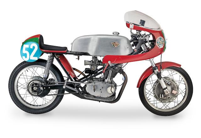 Saxon-Ducati 350cc Mark III Desmo Racing Motorcycle Frame no. none visible Engine no. DM350 06932
