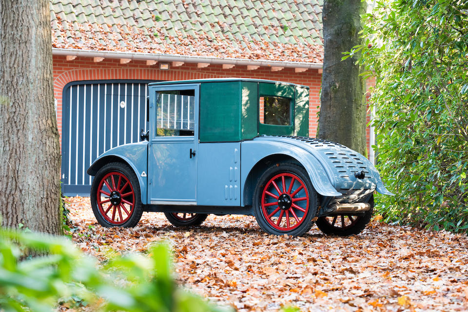 Ex-Brucker Collection,1928 Hanomag 2/10PS 'Kommisbrot'   Chassis no. 15460