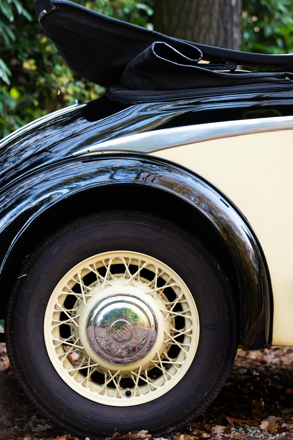 1939 DKW F8 Luxe Cabriolet  Chassis no. 3142010
