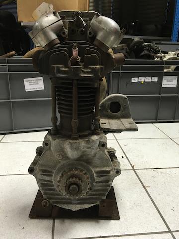 A c.1930 OHV 350cc single JAP engine