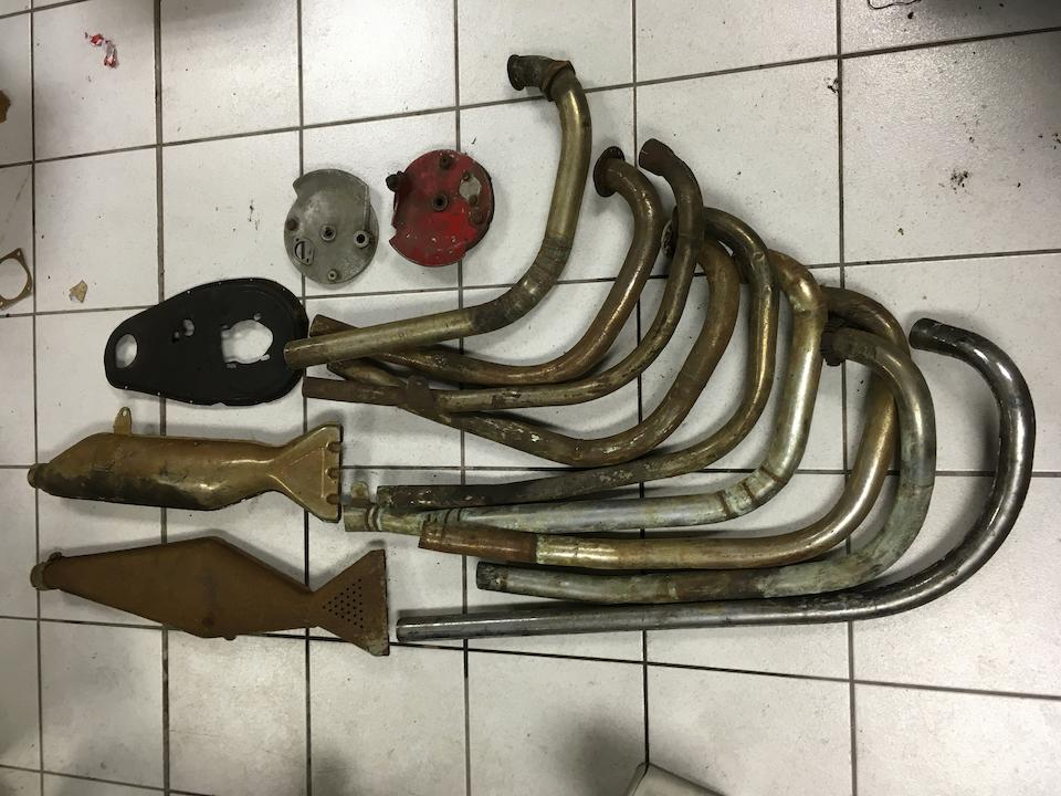A large quantity of mainly Velocette spares  ((Qty))