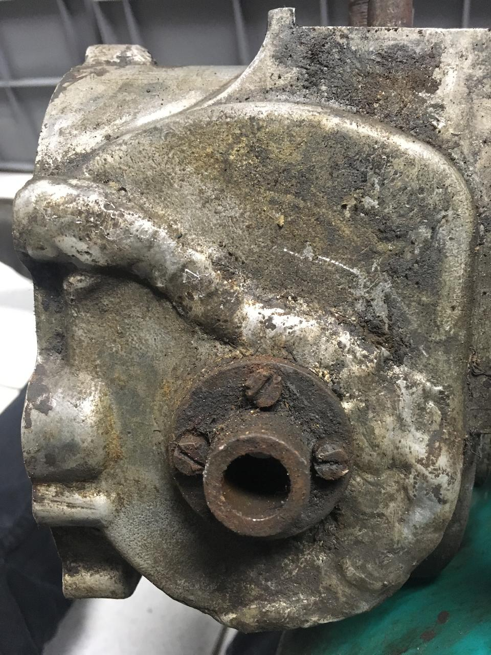 A quantity of Velocette gearboxes and associated parts  ((Qty))
