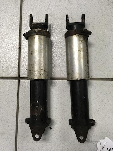 A pair of Oleomatic air-sprung struts  ((2))