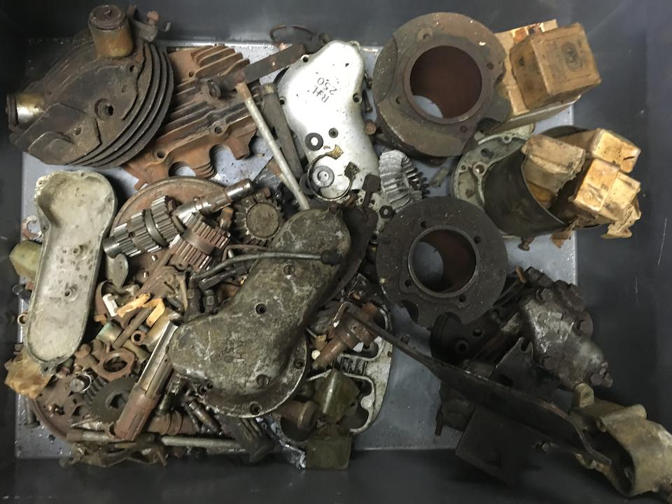 A large quantity of mainly Ariel engine components  ((Qty))